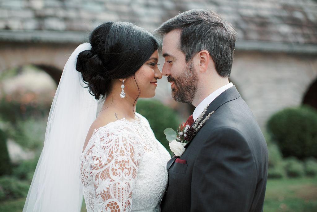 A Beautiful Hindu And Western Wedding At Greenacres Arts Center